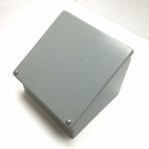 Hoffman C8c8 Steel Consolet Enclosure Sloped Cover 8 X 8 X 7 375 To