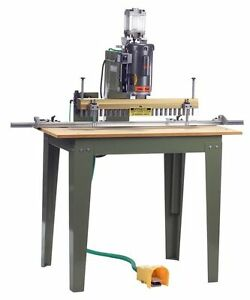Conquest Bo122 23 Spindle Pneumatic Line Boring Machine new In Crate