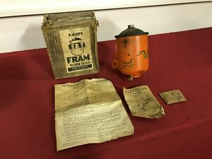 Nos 1935 1940 Plymouth Dodge Plymouth Desoto Fram Oil Filter Kit F 415p2