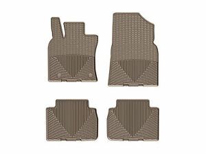 Weathertech All weather Floor Mats For Toyota Camry 2018 2019 1st 2nd Row Tan