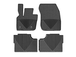 Weathertech All Weather Floor Mats For Ford Fusion Lincoln Mkz 2017 2019 Black