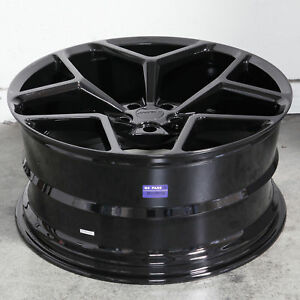 20x9 20x10 Mrr M228 5x120 35 35 Black 20 Wheels Flow Forge Fit Camaro Set 4