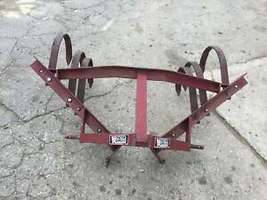 Very Nice 1 Row 3 Point Hitch Cultivator