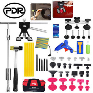 Pdr Tools Paintless Dent Removal Tools Puller Lifter Glue Gun Hail Removal Kit