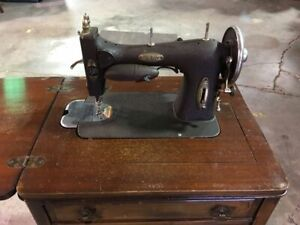 Rare Antique White Rotary Vintage Sewing Machine