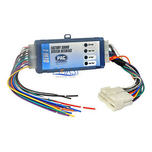 Car Radio Replacement Amplified Interface Harness For Gm Factory Premium Sound