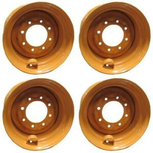 4 Replacement D136530 Skid Steer Wheel Rim For Case 1845c 12 16 5 16 5x9 75x8