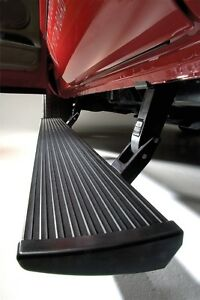 Amp Research Powerstep Electric Running Boards For 14 18 Chevrolet Gmc 2500 3500