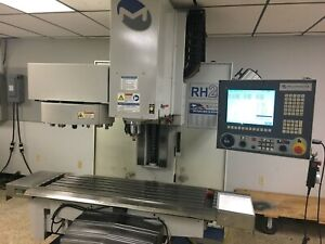 Milltronics Rh20 Cnc Rigid Head Vertical Mill Machining Center