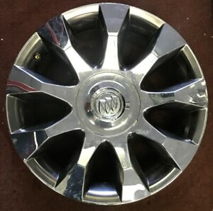 20 Buick Enclave Factory Chrome Clad Used 9596963 Rim Wheel 4105