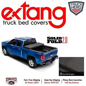 84470 Extang Solid Fold 2 0 Toolbox Tonneau Cover Toyota Tundra 8 Bed 2014 2019