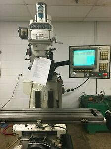 Milltronics Partner 3 Cnc Vertical Milling Machine Clearance Priced