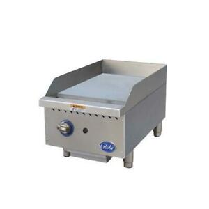 Globe Gg15g 15 Gas Griddle Flat Top Grill