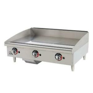Star 636tf Star max 36 Thermostatic Control Gas Griddle Flat Top Grill