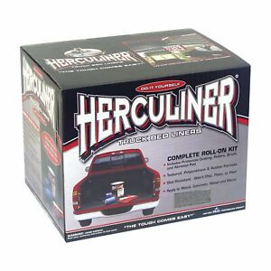 Herculiner Bed Liner Kit Gray Hcl1g8