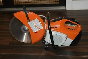 Stihl Ts420 Gas Concrete Cut off Saw With 14 Blade Mint