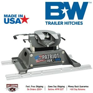 Rvk3200 B W Patriot 16k 5th Fifth Wheel Rv Trailer Hitch