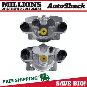 New Pair Rear Left And Right Brake Calipers Set Fits Ford F 150 Lincoln Mark Lt