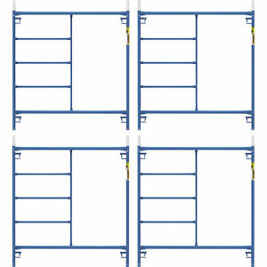 Metaltech Saferstack 5ft X 5ft Mason Frame 4 pack Model M mf6060psk4