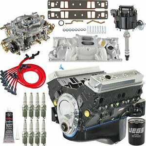 Blueprint Engines Bp3503ct1k Small Block Chevy 350ci Base Engine Kit 373hp 400tq