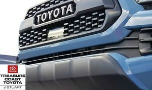 New Oem Toyota Tacoma 2018 2019 Up Trd Pro Grille Matte Black With Radar Cover