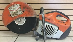 Stihl Ts 420 Concrete Cut off Saw Gas Power