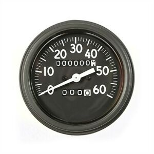 Rugged Ridge 17206 02 Speedometer 1941 1943 Willys Mb Ford Gpw 0 60 Mph 3 5 Diam