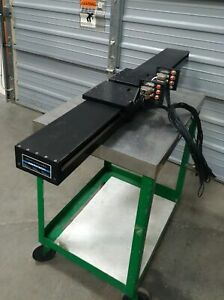 Aerotech Als10100 Linear Motor Stage 2x Stages 7 5 X 7 5 1050mm Travel