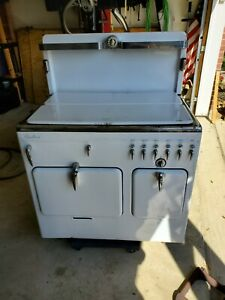 Rachel Ray Style Vintage Antique Chambers Gas Stove Oven Model B Circa 1941