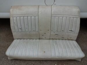 1968 1969 1970 71 72 Skylark Gs Ss Chevelle 442 Gto Convertible 48 Rear Seat