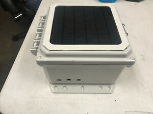 Weather Proof Project Box Polycarbonate Box With Solar Panel