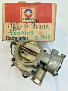 Nos Rochester Bc Carburetor 7020107 1957 1962 Chevy 235 L6 Engine