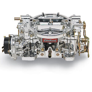 Edelbrock 14064 600 Cfm Performer Carb With Endurashine