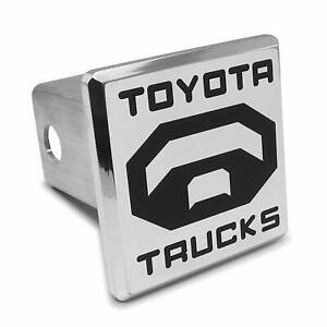 Toyota Trucks Chrome Billet Tow Hitch Cover