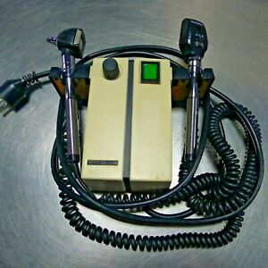 Welch Allyn 74710 Wall Transformer With Otoscope Ophthlamoscope Heads