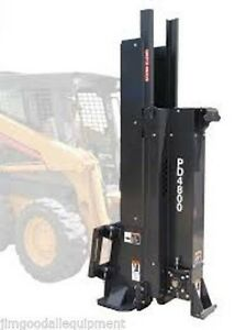 Bradco Post Driver For Skid Steer Loaders Complete Package For Fencing in Stock