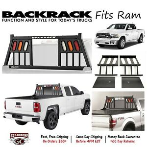 144tl Backrack Three Light Headache Rack Frame Only Fits Ram 1500 2011 2018