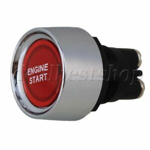 Car Off On Switch 12v 24v Red Push Button Auto Engine Ignition Starter