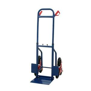 440lbs Blue Heavy Climbing Stair Moving Dolly Hand Truck Workshop Appliance Cart