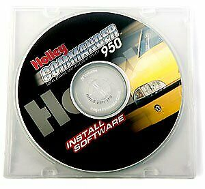 Holley 534 144 Commander 950 Software