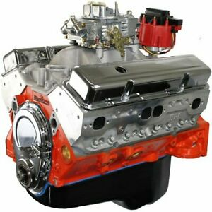 Blueprint Engines Bp4002ctc1 Small Block Chevy 400ci Dress Engine 508hp 473tq