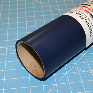Thermoflex Plus 15 X 5 Roll Navy Heat Transfer Vinyl