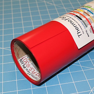 Thermoflex Plus 15 X 5 Roll Red Heat Transfer Vinyl