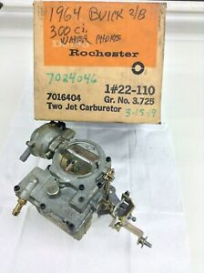 Nos Rochester 2gc Carburetor 1964 Buick 300 Engine