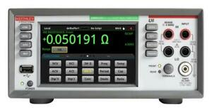New Tektronix Dmm6500 6 1 2 Digit Bench system Digital Multimeter With Scanning