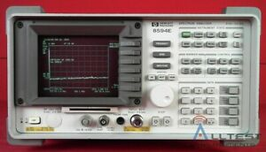 Hp Agilent 8594e 041 3543a02694 Spectrum Analyzer 9khz To 2 9 Ghz