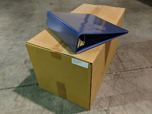 Carton Of Heavy Duty 3 Ring Binders Blue 2 Ring Sizes Available