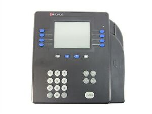 Kronos 8602800 503 System 4500 Digital Badge Time Clock With Power Adapter