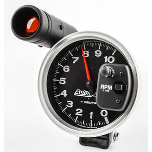 Auto Meter Black Autogage Shift Lite Gauge Tachometer 10 000 Rpm 5 Electrical