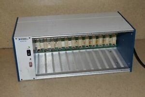 National Instruments Ni Scxi 1001 12 slot Chassis